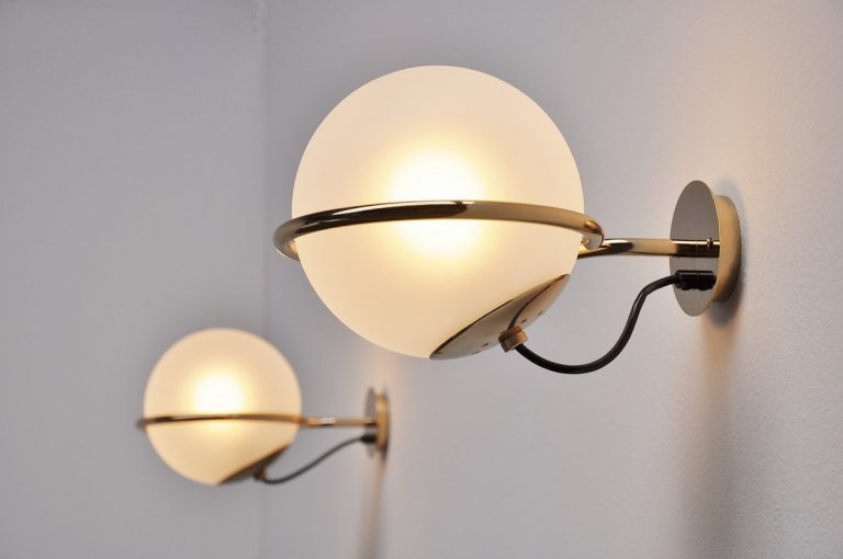 Gino Sarfatti sconces model 238/1 Arteluce 1960