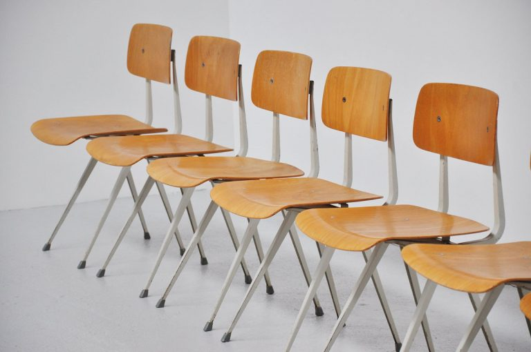 Friso Kramer early Result chairs Ahrend 1960
