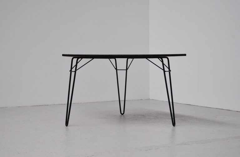 Willy van der Meeren T1 table 1954