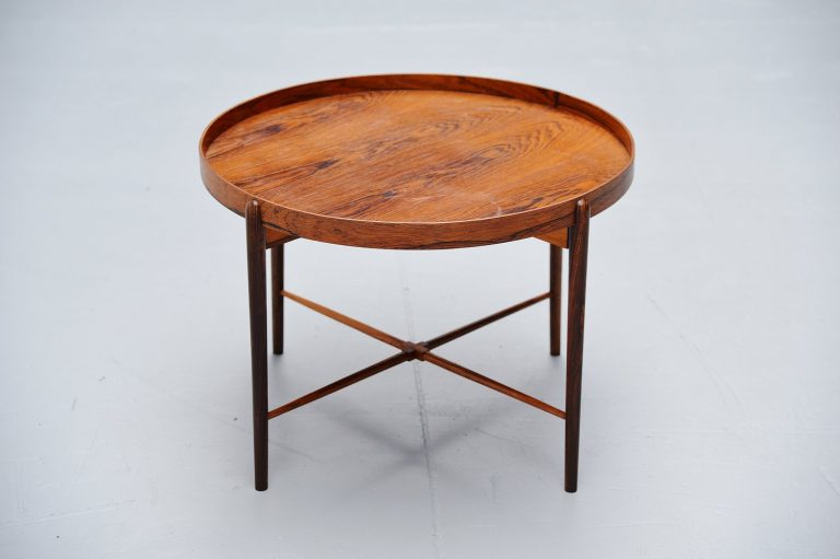 Danish rosewood tray table 1960