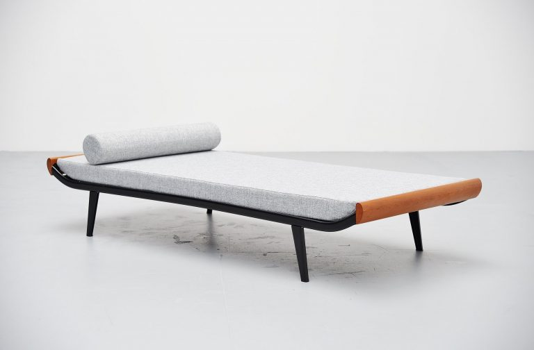 Dick Cordemeijer Cleopatra daybed with mattress Auping 1954