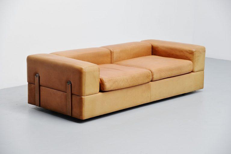 Tito Agnoli daybed sofa Cinova Italy 1968