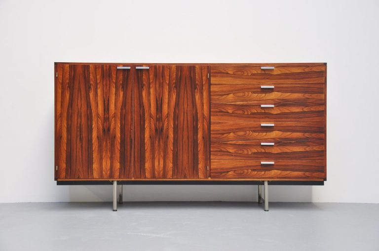 Pastoe made to measure rosewood buffet 1960