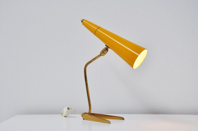 Italian fifties table lamp Stilnovo 1950