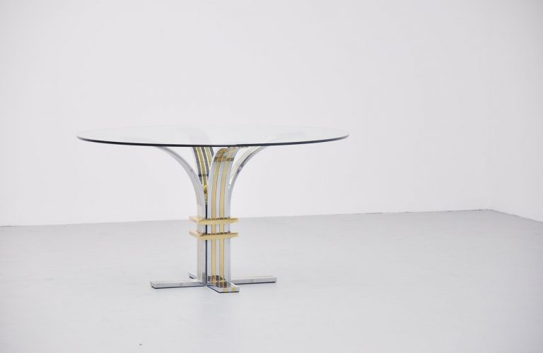 Banci Firenze round dining table, Italy 1970