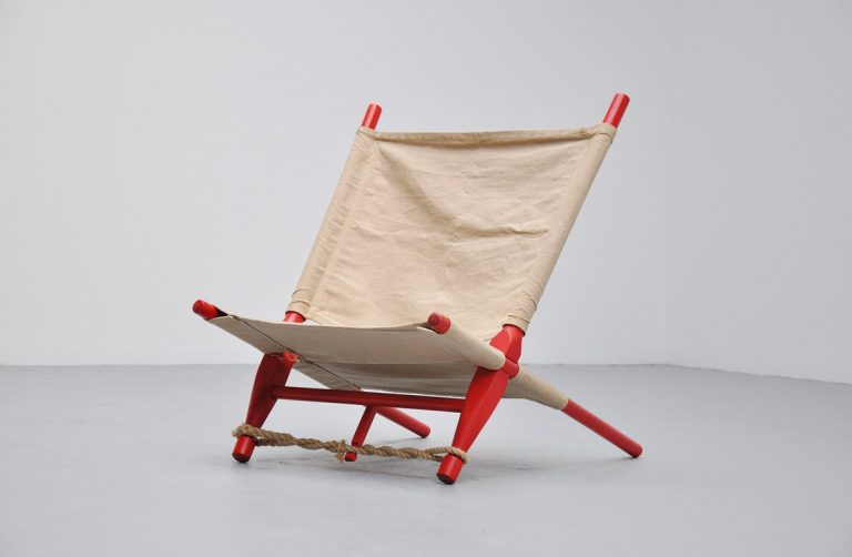 Ole Gjerlov Knudsen saw lounge chair Cado 1958