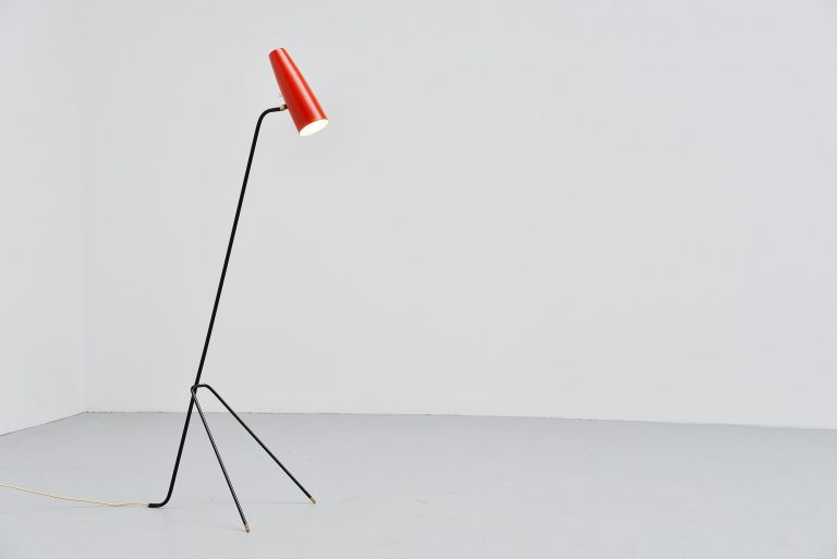 Grasshopper floor lamp Sweden 1950