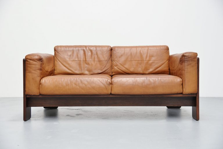 Afra e Tobia Scarpa 2 seater Bastiano sofa for Gavina Italy 1968