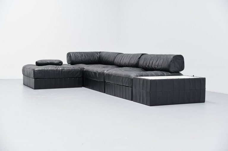 De Sede DS88 patchwork lounge sofa Switzerland 1970