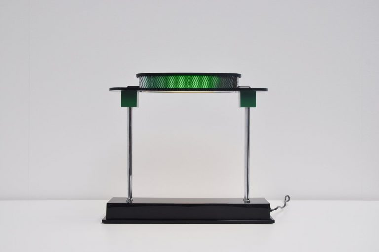 Ettore Sottsass Pausania table lamp for Artemide 1983