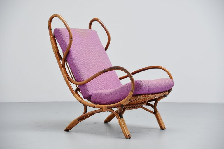 Gio Ponti Continuum BP16 lounge chair Bonacina Italy 1963
