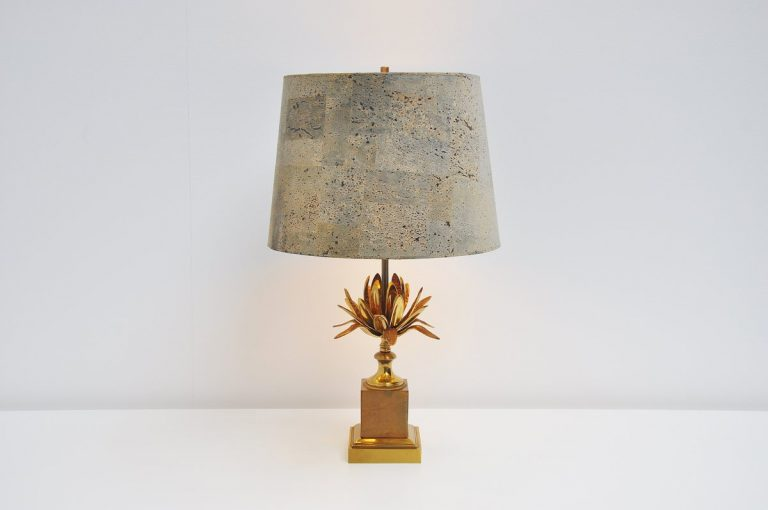 Maison charles Artichoke table lamp France 1970