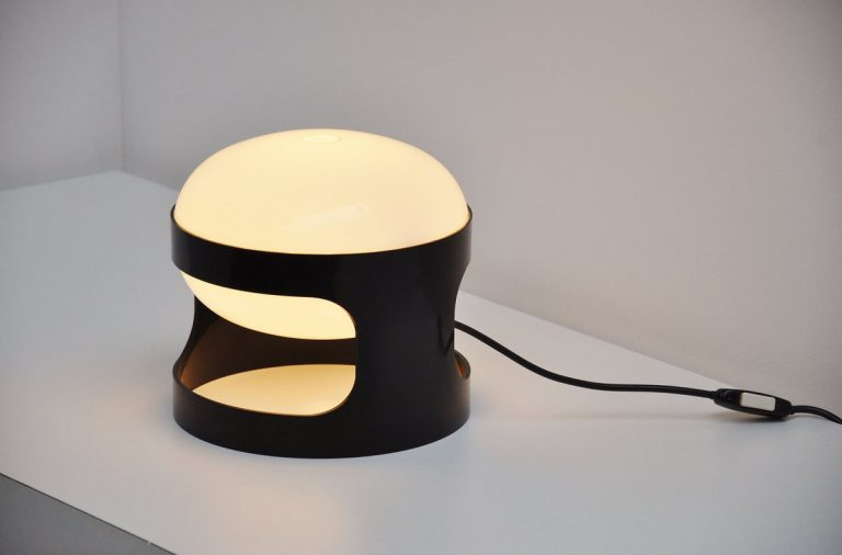 Joe Colombo early KD27 table lamp Kartell 1967
