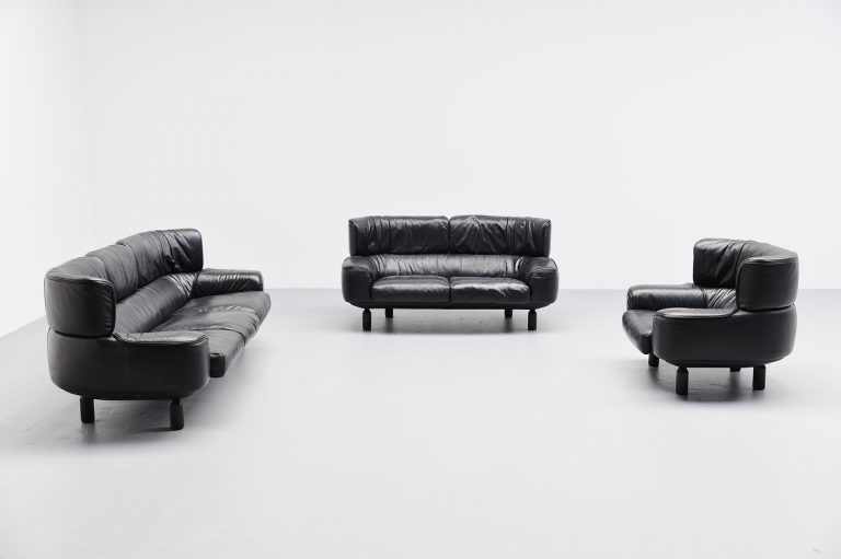 Gianfranco Frattini Bull sofa set for Cassina 1987
