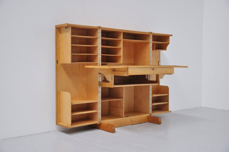 Mummenthaler and Meier desk in a box ca 1950