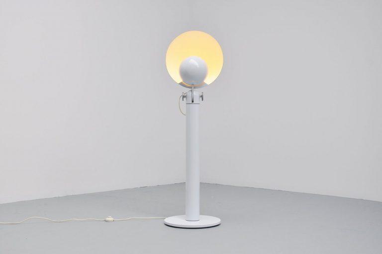 Francesco Buzzi Cuffia floor lamp Bieffeplast 1969