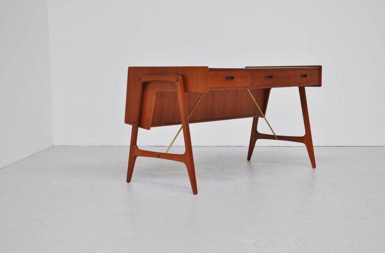 Organic Danish teak desk 1960