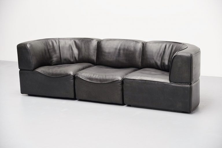 De Sede DS15 modular sofa Switzerland 1970