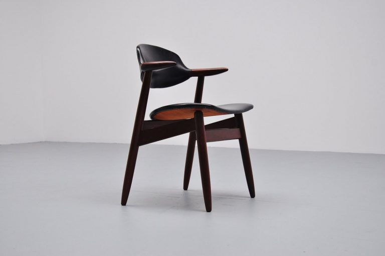 Cowhorn chairs by Tijsseling Hulmefa 1960