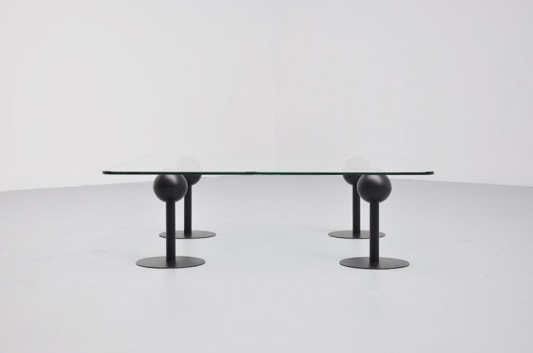 Philippe Starck les Trois Suisses coffee table France 1982