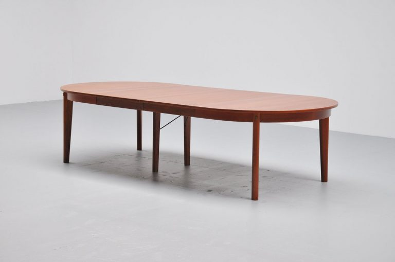 Borge Mogensen conference table in teak 1960