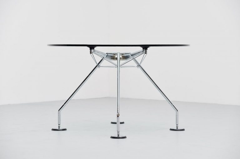 Sir Norman Foster Nomos round table for Tecno 1987