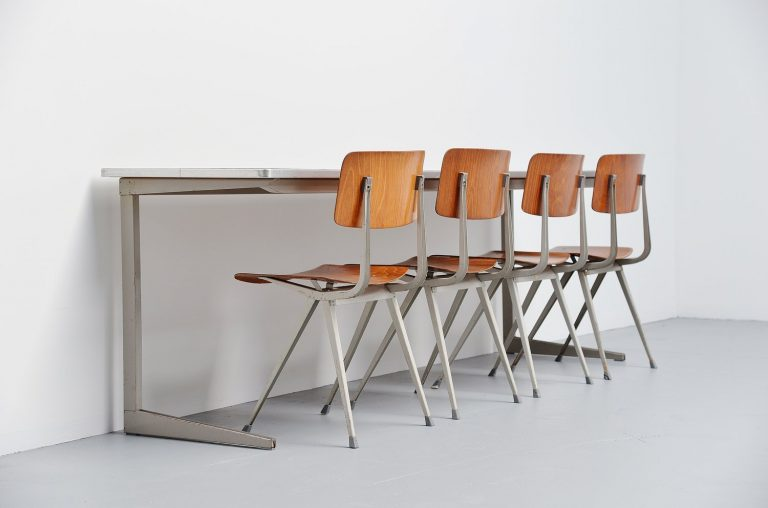 Friso Kramer working table for Ahrend de Cirkel 1964
