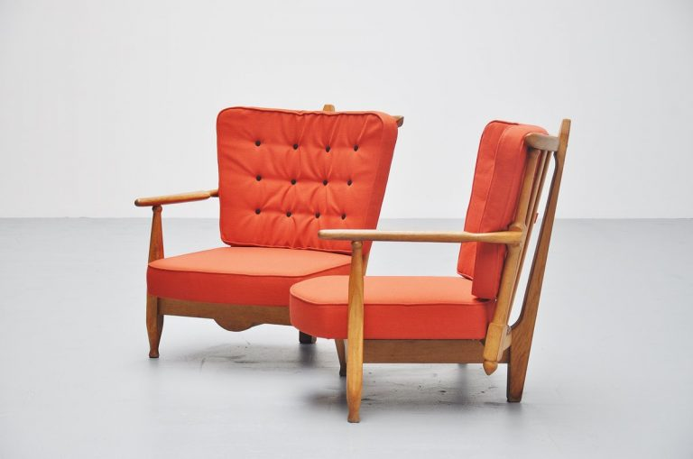 Guillerme et Chambron settee France 1955