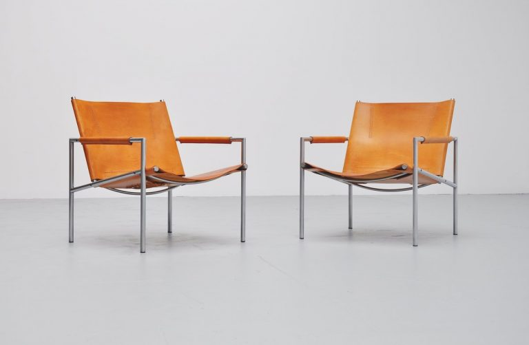 Martin Visser SZ02 lounge chairs 't Spectrum 1965