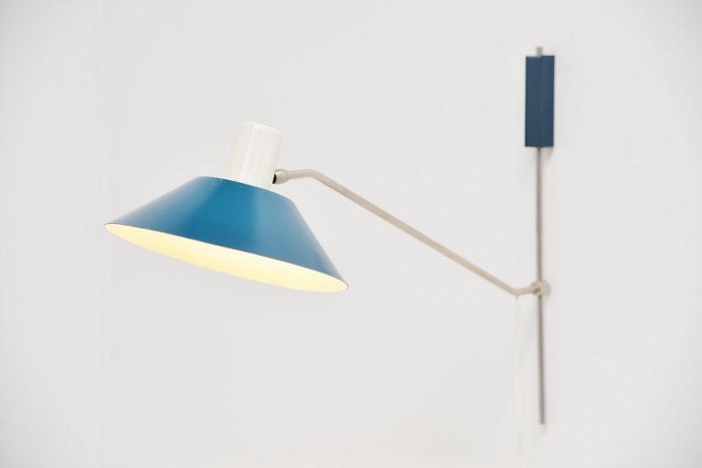 Anvia wall lamp by JJM Hoogervorst Almelo Holland 1955