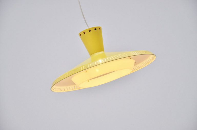 Louis Kalff ceiling lamp NB92 Holland 1959