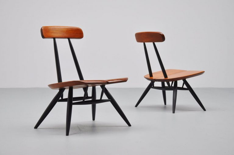 Ilmari Tapiovaara Pirkka lounge chairs 1955