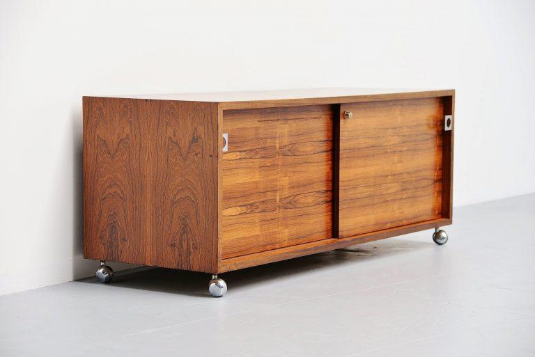Bodil Kjaer storage cabinet by Pedersen & Son Denmark 1959