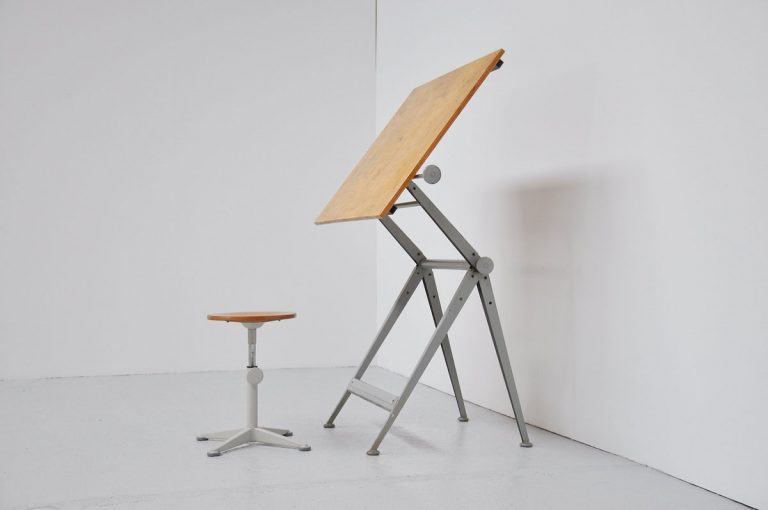 Wim Rietveld Friso Kramer drafting table 1963