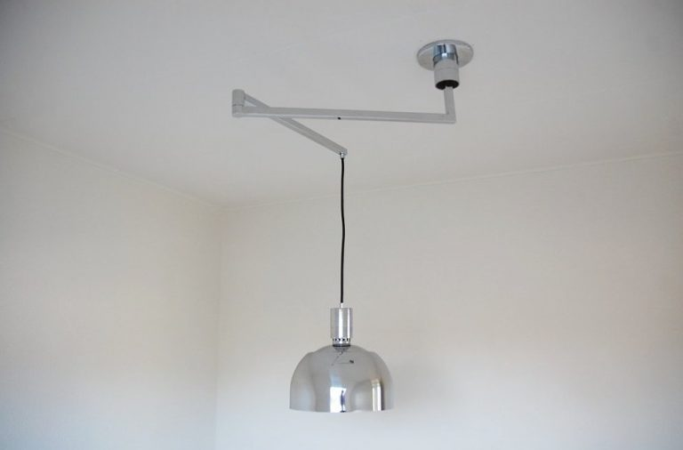 Franco Albini Sirrah swivel ceiling lamp Italy 1969