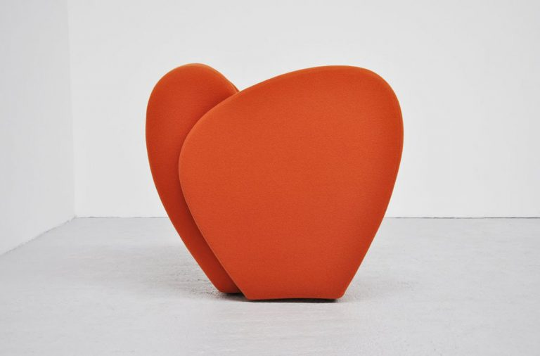 Moroso Ron Arad Size ten chair orange 1994