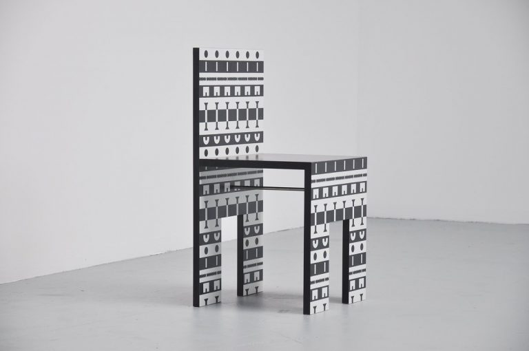 Alessandro Mendini Ollo chair for Alchimea 1988