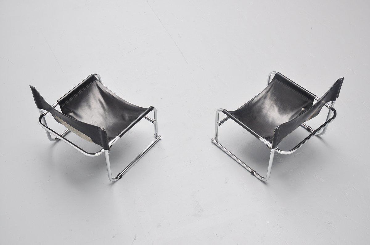 Rodney Kinsman T1 Sling Lounge Chairs Bieffeplast 1967