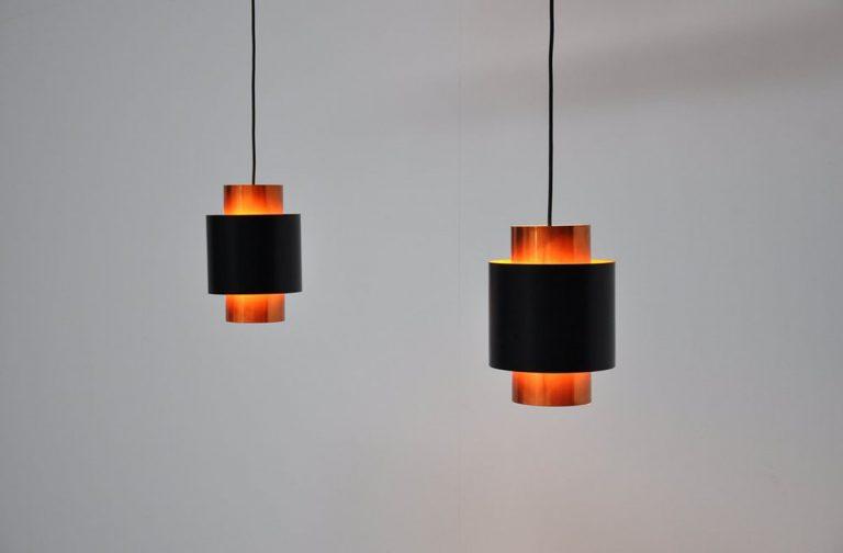 Fog & Morup Jo Hammerborg Saturn lamps 1960