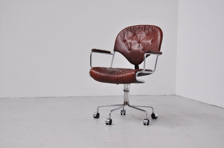 Bruno Mathsson Dux desk chair 1960