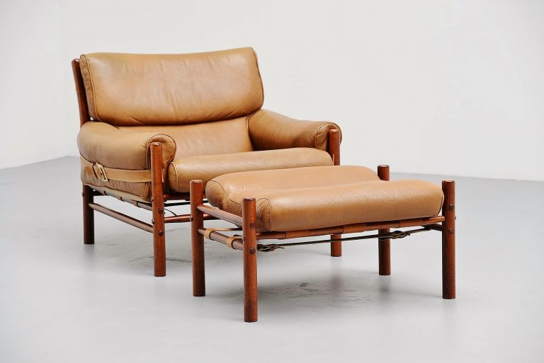 Arne Norell Kontiki lounge chair Sweden 1960