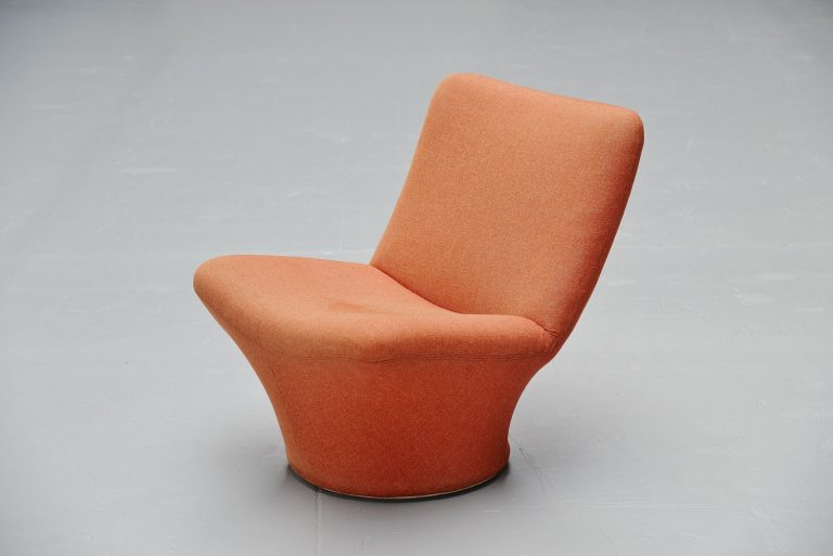 Pierre Paulin F596 lounge chair Artifort 1967