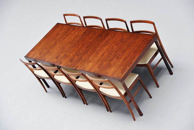 Inger Klingenberg dining table Fristho Franeker Holland 1960