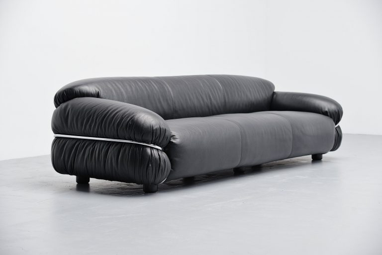 Gianfranco Frattini Sesann sofa Cassina Italy 1969