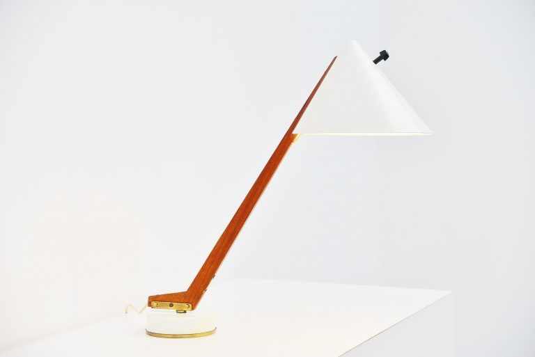 Hans-Agne Jakobsson table lamp Markaryd Sweden 1960