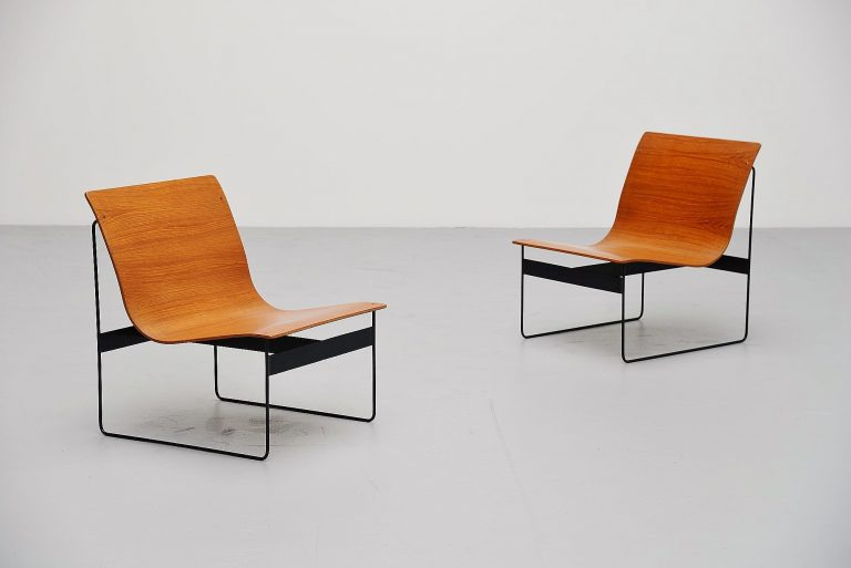 Günter Renkel lounge chairs for Rego Germany 1959