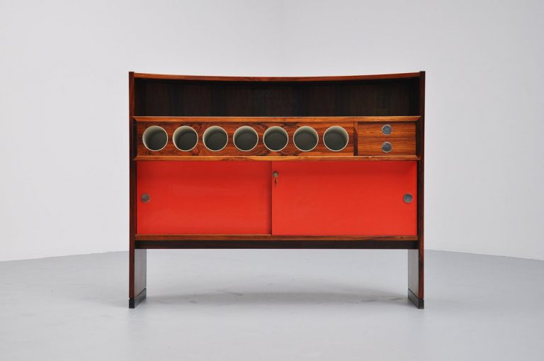 Erik Buck bar cabinet Dyrlund 1960