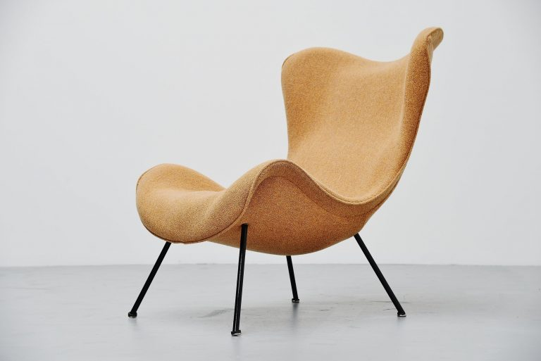 Fritz Neth Madame lounge chair Correcta Germany 1950