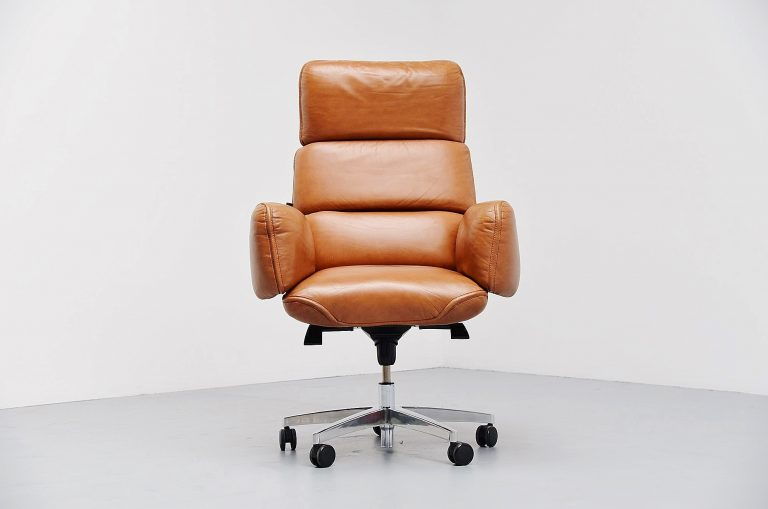 Otto Zapf desk chair by Knoll International USA 1975