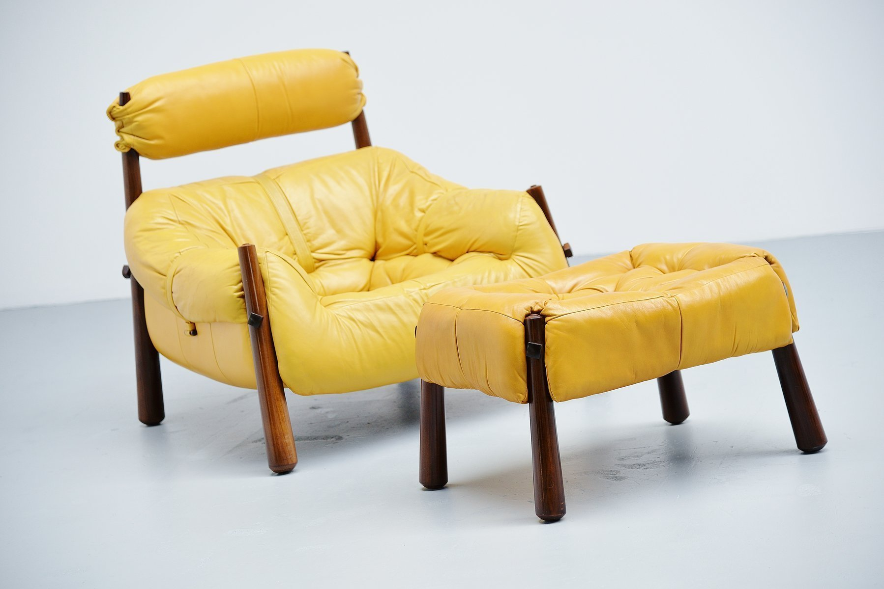 Percival Lafer Lounge Chair Brazil 1958